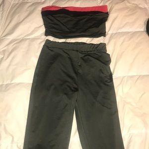 Three piece pants set